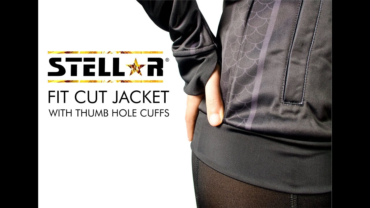 Fit Cut Jacket with Thumb Hole Cuffs