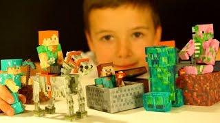 МАЙНКРАФТ Игрушки - Распаковка Посылки из Америки - Кока Туб - Minecraft Toys Unboxing