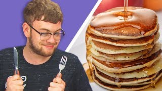 Irish People Taste Test American Pancakes