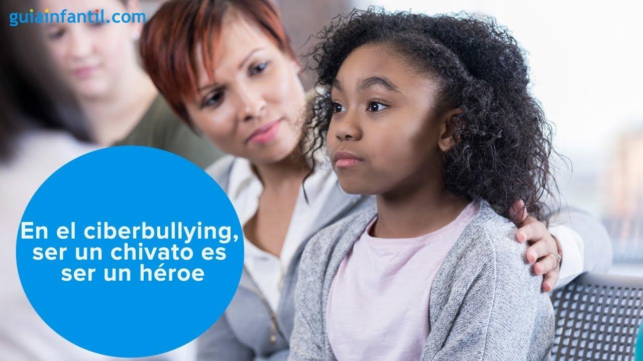 En el ciberbullying, ser un chivato es ser un héroe | #ConectaConTuHijo