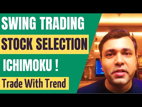 SWING TRADING With ICHIMOKU CLOUD (Trading Strategy & STOCK SELECTION) 🔥🔥