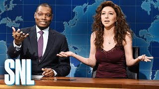 Weekend Update: Angel Reacts to Good Holiday News - SNL