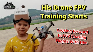 9 Years Old Natural FPV Pilot - FPV Drones Flight Training