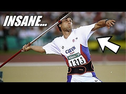This 25-Year-Old Javelin Throw Record Will NEVER Be Broken