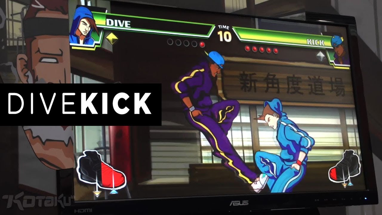 Divekick Is The Smartest, Most Absurd Two-Button Fighting Game I've Ever Played