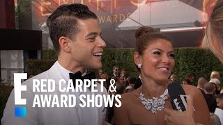 Rami Malek Turns the 2016 Emmys Into a Family Affair! | E! Red Carpet & Award Shows