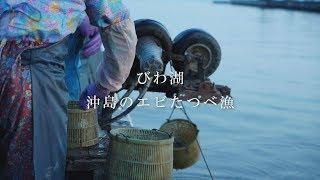 【びわ湖の魚を食べる】 沖島のエビたつべ漁