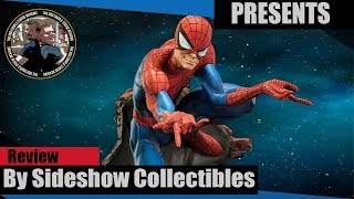 J Scott Campbell Spiderman Comiquette Exclusive Unboxing & Review The Odd Couple Statue Reviews