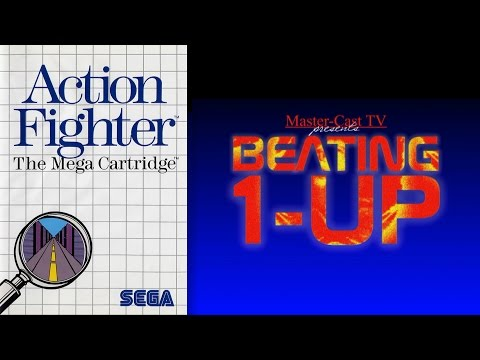 Beating 1-UP - Action Fighter (Playthrough/Master System)