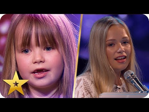 All grown up! The child stars of BGT return to the stage | BGT: The Champions (видео)