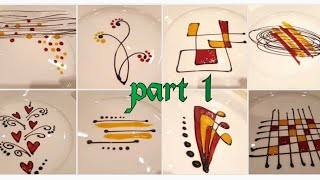 Plating Techniques For Desserts | PART 1| By Monika Talwar