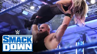 "Braun Strowman uses Alexa Bliss to entice ""The Fiend"" Bray Wyatt: SmackDown, August 14, 2020"