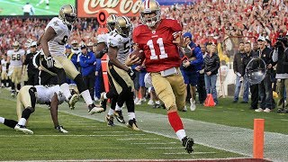 2011-12 NFL Divisional Playoffs: 49ers Vs Saints Full Highlights   NFL Highlights