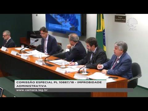 PL 10887/18 - Improbidade Administrativa - Audiência com juristas - 20/11/2019 - 15:03