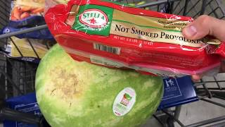 Касса самообслуживания в США покупка продуктов Мелкий опт 06.17 цены на еду в Америке