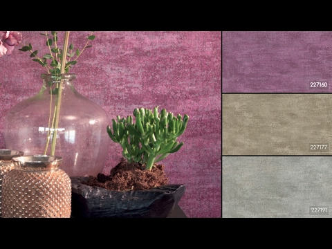 Видео Rasch Textil Tintura