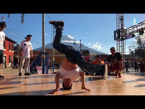 El gimnasta Jorge Vega comparte su pasión por el Break Dance
