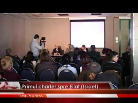 Primul charter spre Eliat (Israel)
