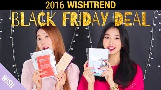 Wishtrend Black Friday 2016 Shopping Guide | Top 10 Black Friday Products