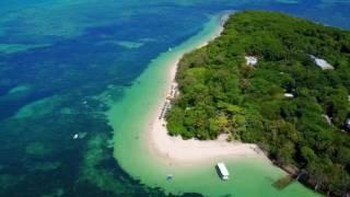 Green Island Great Barrier Reef Queensland Australia Summer 2016 / 2017 DJI Mavic Pro Drone