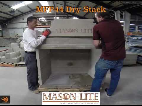 How to Dry Stack a Mason-Lite Firebox