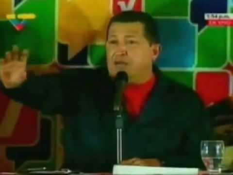 Hugo Chávez manda Mensaje a la iglesia catolica.