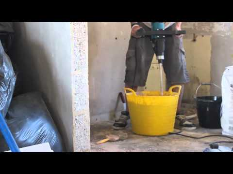 The Makita UT1600 Plaster Mixer Mixer