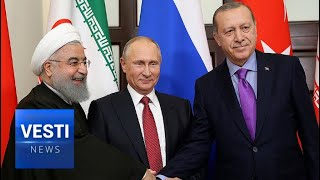 Exclusive Behind The Scenes Look   Eyes Of World Glued To Ankara Summit Russia, Turkey, Iran!