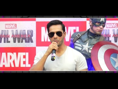 Varun Dhawan dubs for 'Captain America: Civil War' in hindi | MTunes HD