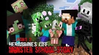 MONSTER SCHOOL : Herobrine