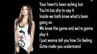 Ashley Tisdale Never Gonna Give You Up Lyrics