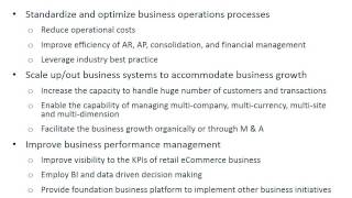 Business Technology Investment Methodology and Application to Mid-Size Corporate ERP Initiative
