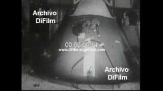 DiFilm - Spatial capsule Apollo 1 totally destroyed for fire 1967
