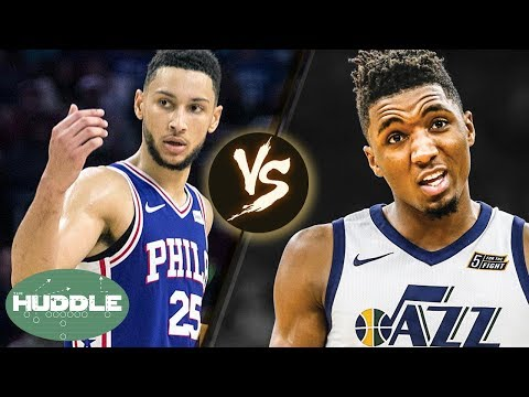Donovan Mitchell vs Ben Simmons: Has The TROLLING Gone Too Far?! | Huddle