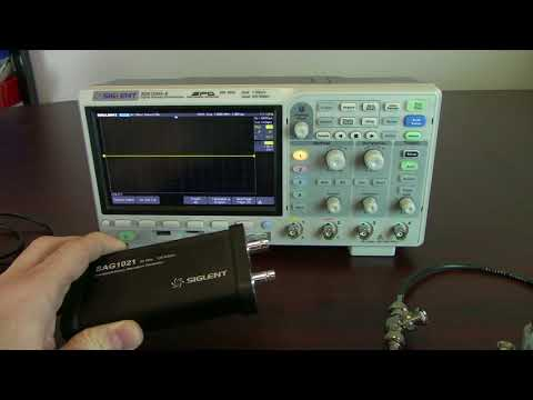 Adding a Function Generator to an Oscilloscope