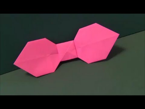 ハート 折り紙 リボンの折り方 折り紙 : matome.naver.jp