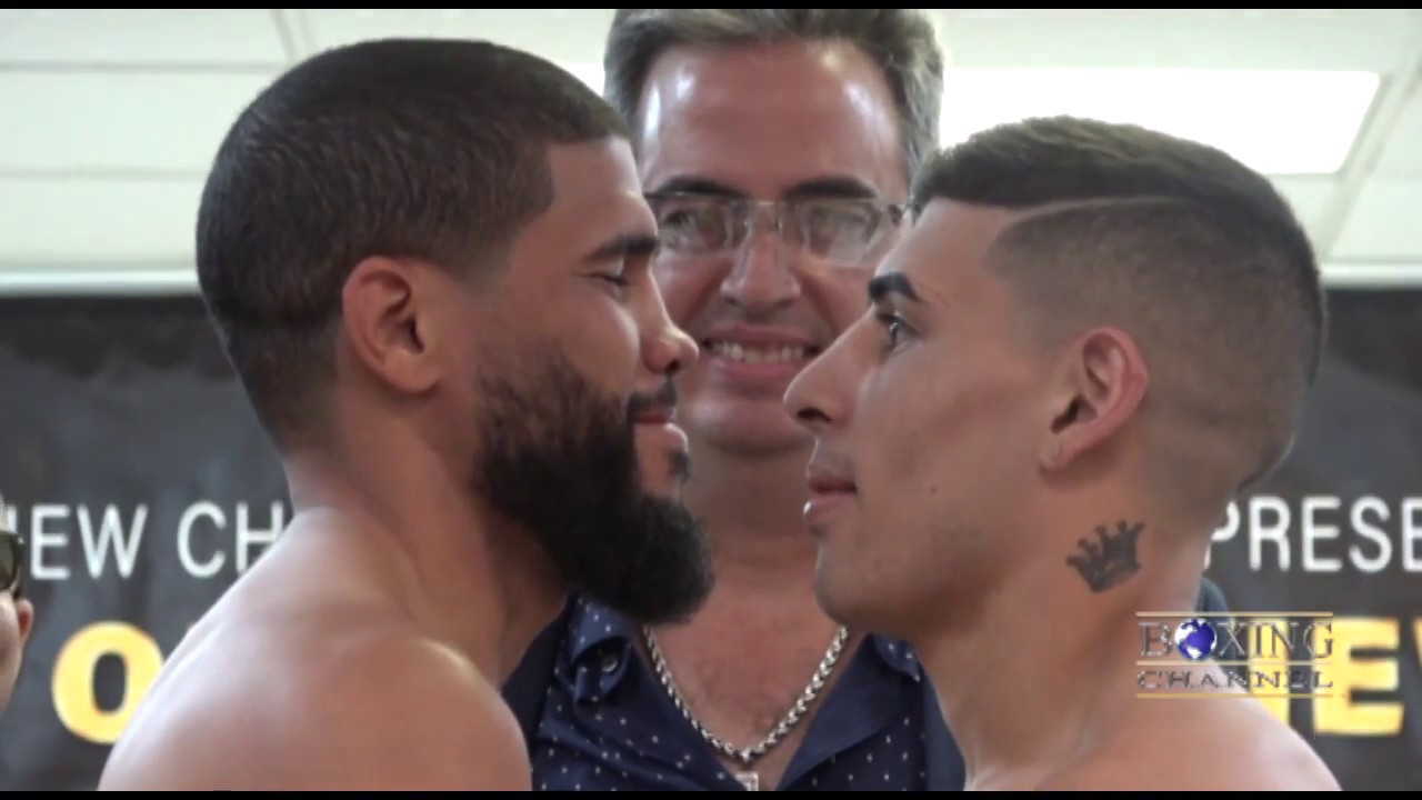 "Yuriorkis Gamboa vs Miguel Beltran Jr"" Weigh-ins"