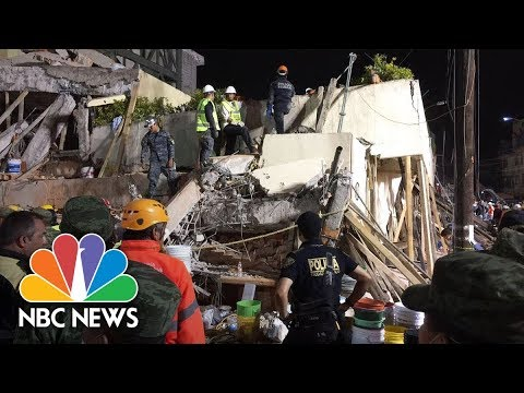 At Least 20 Children Killed In Mexico City School Collapse   NBC News
