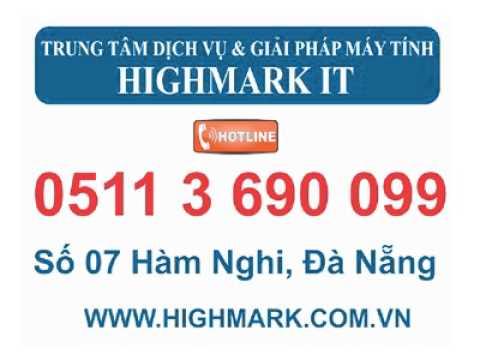 Công ty sửa laptop tại Đà Nẵng - 05113 690 099