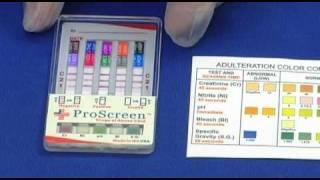 USDiagnostics Proscreen Dip Card