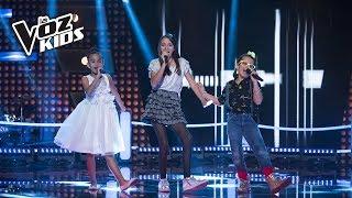 María Paulina, Andre y Monserrat cantan La Bamba - Batallas | La Voz Kids Colombia 2018