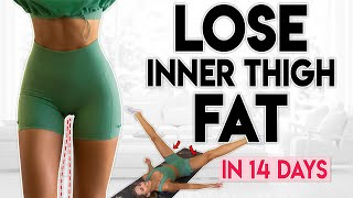 LOSE INNER THIGH FAT in 14 Days | 8 minute Home Workout