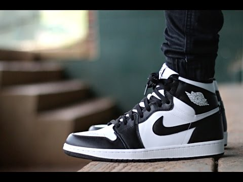 Air Jordan 1 | Black/White | On Foot!