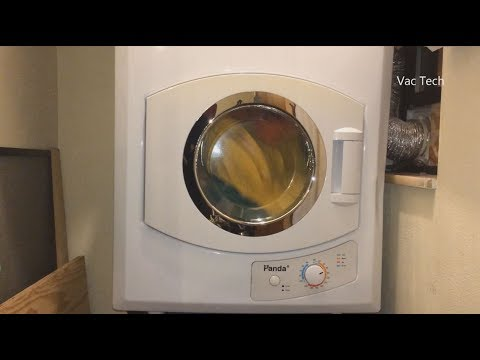 Panda Compact Clothes Dryer Review – Apartment Dryer Demo 110V PAN40SF
