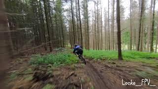Downhill vs. racing drone