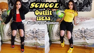 BACK TO SCHOOL OUTFIT IDEAS 2019 📚|| Baddie On A Budget While Trendy And Comfy