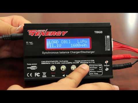 Tutorial: Tenergy TB6B Balance Charger for NiMH/LiPO/LiFe Battery Packs | All-Battery.com