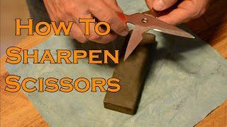 How to Sharpen Scissors