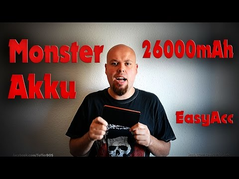 Externer Akku MONSTER EasyAcc / Poduktvorstellung/ HD