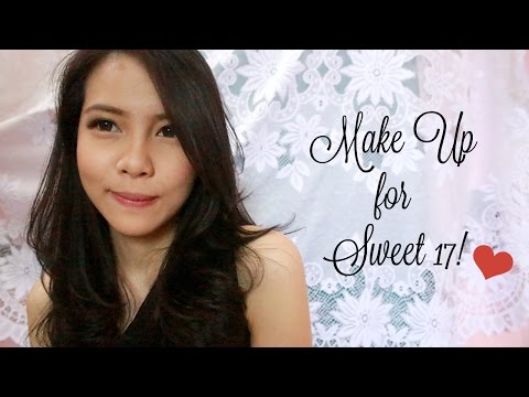 Video SUPER EASY MAKE UP TUTORIAL FOR SWEET 17!